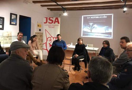 Juventudes Socialistas reclama la creación de proyectos para atraer a los jóvenes a la comarca del Maestrazgo.