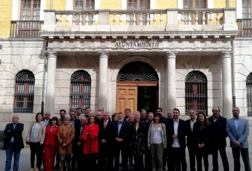 LOS CANDIDATOS DEL PSOE HACEN UNA FÉRREA DEFENSA DE LA AUTONOMÍA LOCAL.