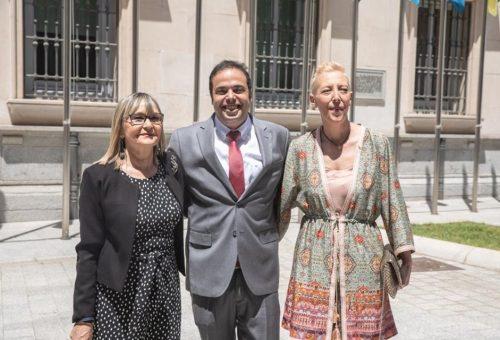 Maria José Villalba, Antonio Amador Cueto y Perla Borao adquieren su condición plena de senadores