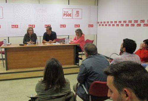 LA EJECUTIVA PROVINCIAL DEL PSOE TERUEL MUESTRA SU ACUERDO CON LAS BASES PROGRAMÁTICAS PARA EL FUTURO GOBIERNO DE ARAGÓN FIRMADAS POR PSOE Y PAR