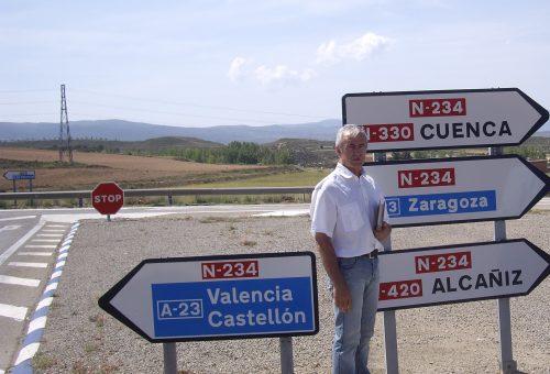 EL GRUPO MUNICIPAL DEL PSOE TERUEL AGRADECE AL MINISTERIO DE FOMENTO QUE HAYA ESCUCHADO LA DEMANDA TUROLENSE DE CONSTRUIR UNA ROTONDA EN EL ACCESO DE LA N-234 A LA CIUDAD POR LA FUENFRESCA.