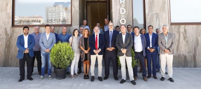 Javier Lambán entrevista denominación origen Jamón de Teruel