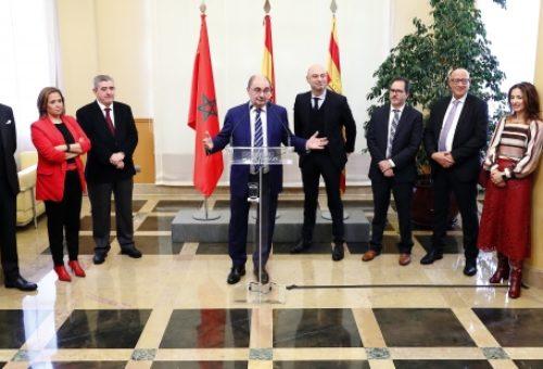 Lambán ofrece el respaldo del Gobierno a la alianza de Fertinagro con Marruecos para aumentar su productividad agrícola de un modo sostenible