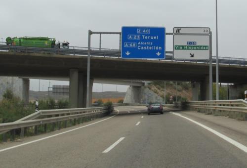 El Gobierno autoriza a licitar el contrato de obras de la A-68, en el tramo El Burgo-Fuentes de Ebro