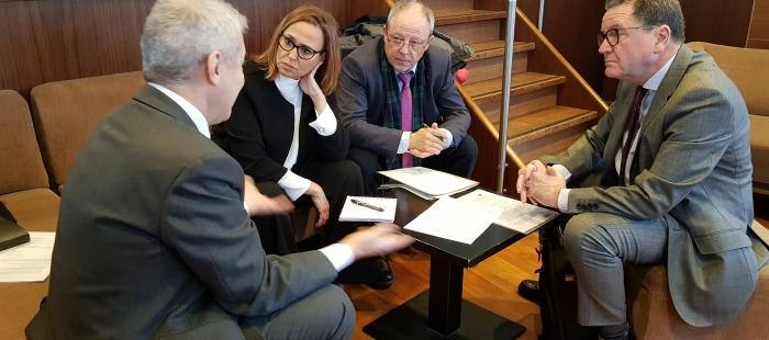 mayte pérez en el comité europeo de las regiones