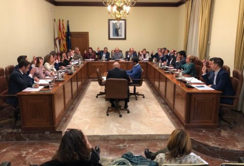pleno diputación provincial teruel