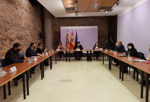 El Ministerio de Política Territorial y Función Pública ultima los trabajos para la firma del Convenio del Fondo de Inversiones de Teruel 2021