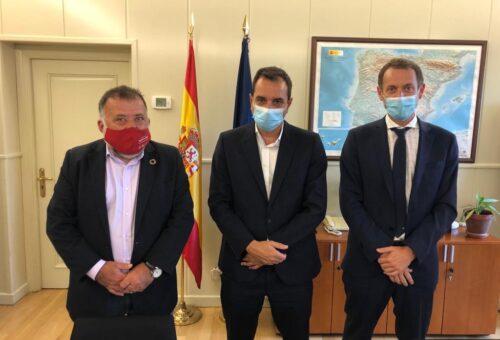 El diputado Herminio Sancho traslada al Ministerio de Transportes las prioridades de la provincia de Teruel